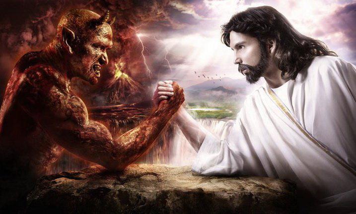 satan et christ